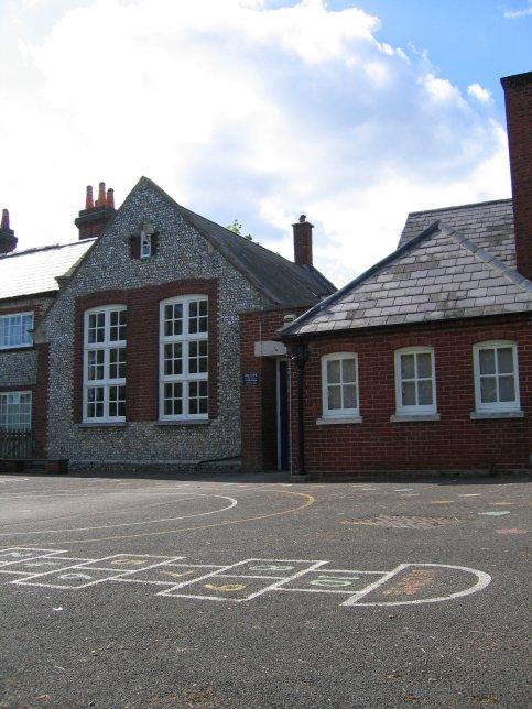 Hambledon School - Click for larger image.